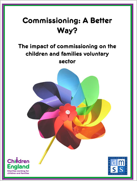 A Better Way: The impact of commissioning on the children and families voluntary and community sector