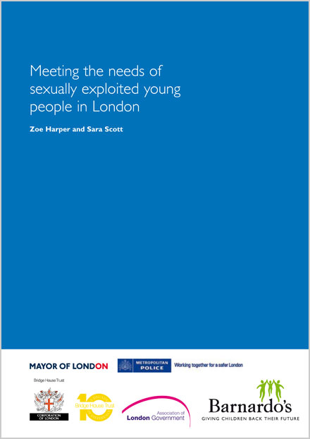 Meeting the needs of sexually exploited young people in London