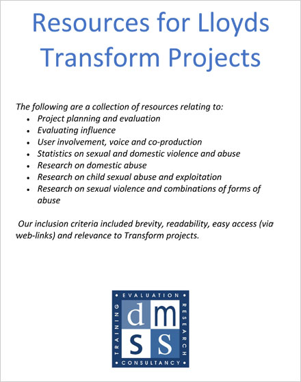 Resources for Lloyds Transform Projects