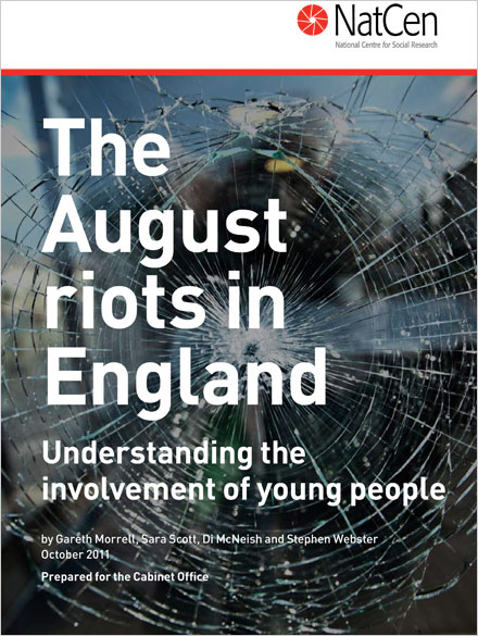 The August Riots in England: Understanding the involvement of young people