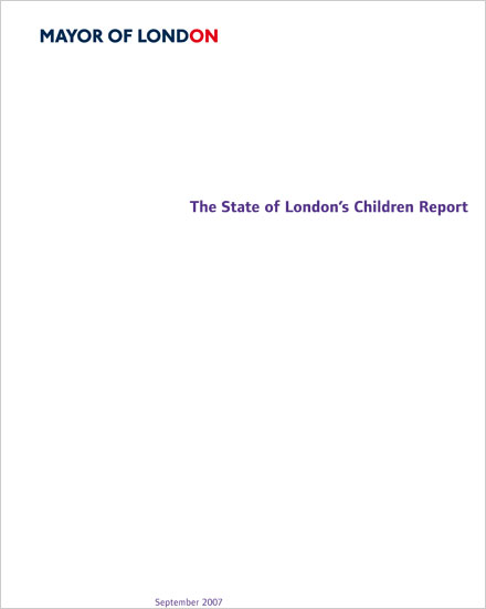 The State of London's Children report