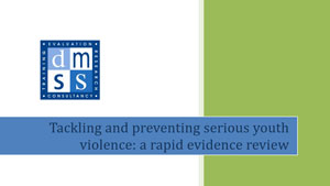 Tacking youth violence including knife crime
